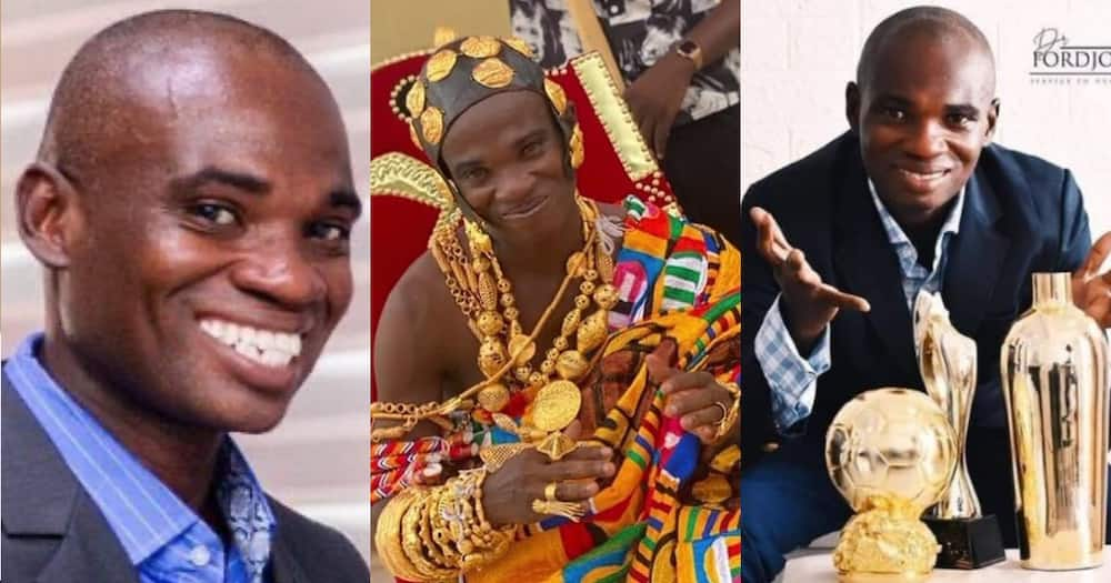 Kwame Fordjour: Photo of Organiser of fake UN Awards Crowned king Drops Online