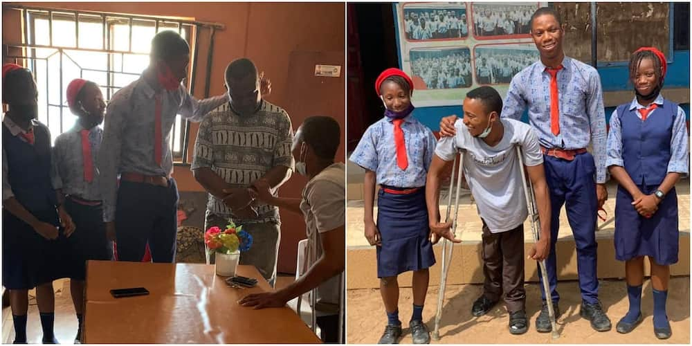 Michael Showunmi is a man with heart of gold