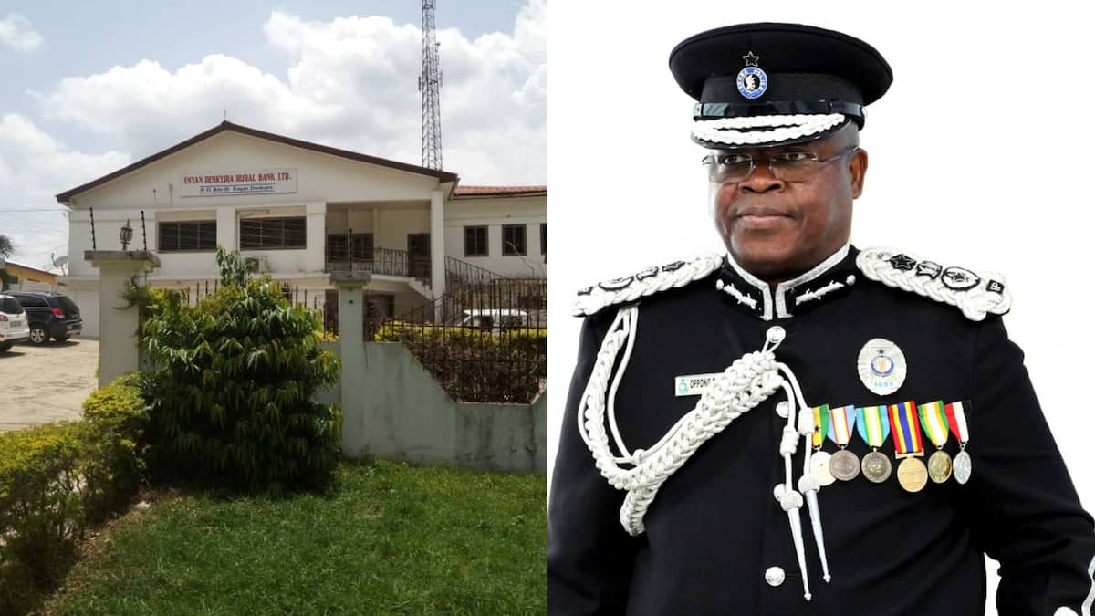 Policeman guarding bank steals GHC690 in coins from tellers; CCTV catches him