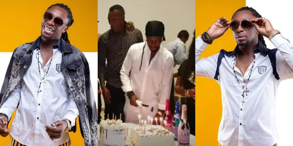 Kwaisey Pee shows off mighty mansion as he hosts celeb friends on his birthday