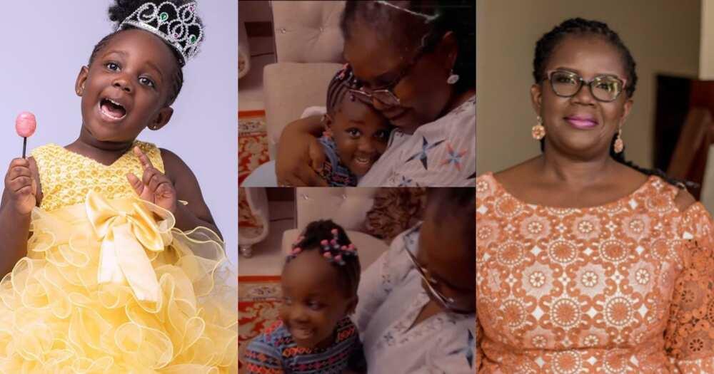 Stonebwoy's Daughter Jidula Sings For Her Grandmother On Her Birthday (Video)