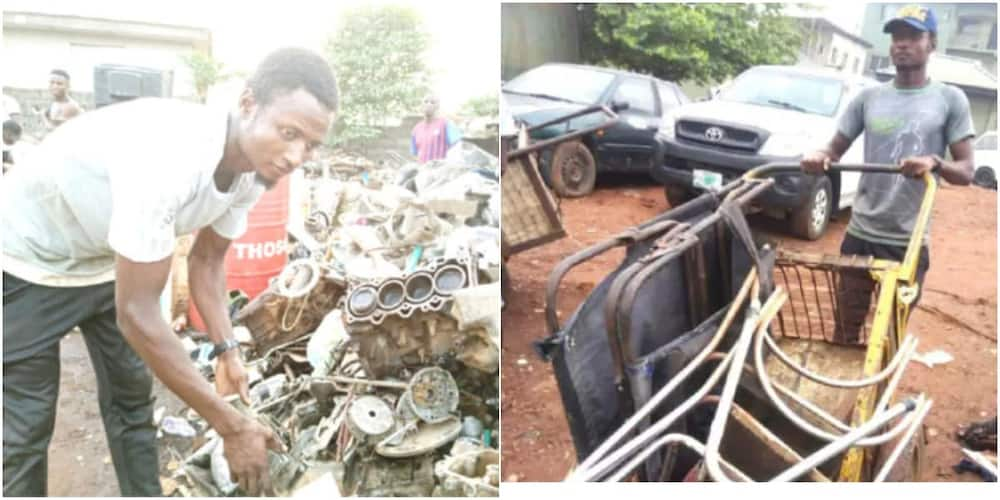 Master's Degree Holder Becomes a Scavenger, Reveals why He Prefers to Pick Scrap
