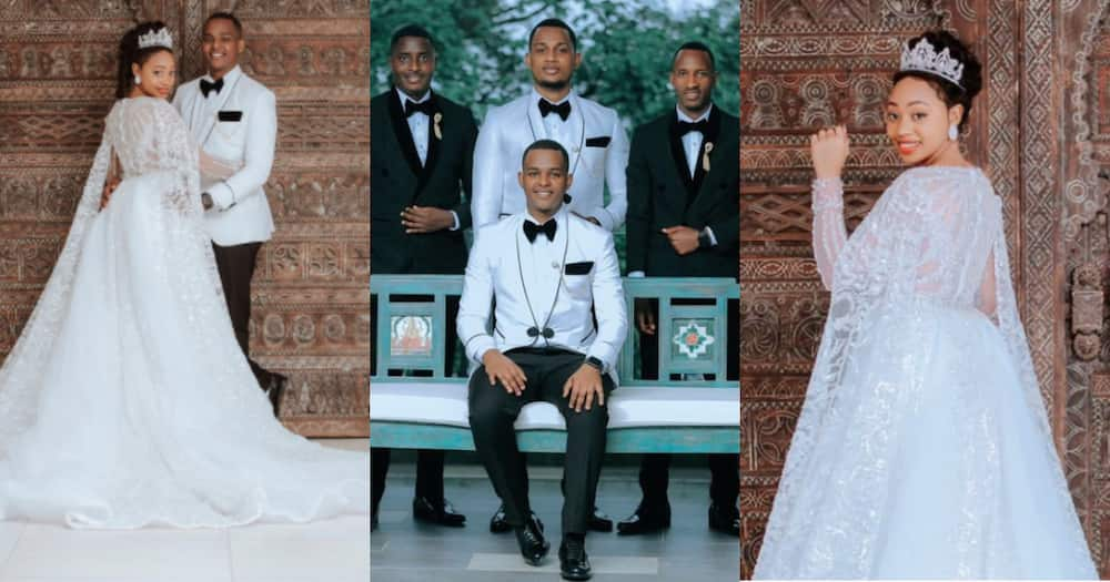 Beautiful Wedding Photos Drop as Handsome Journo and his Fiancée Tie the Knot in Stunning Attires