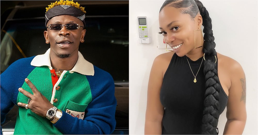 Shatta Wale promises to perform at Michy's wedding if she marries another man
