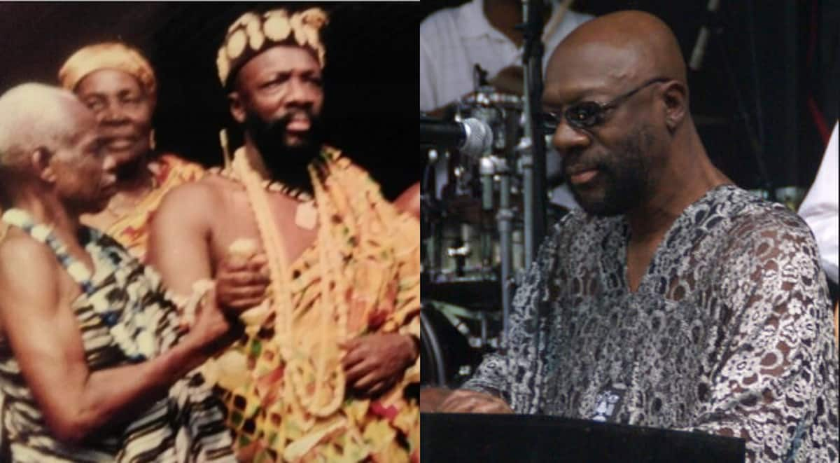 Meet iconic American film star Isaac Hayes who was crowned king in Ghana in 1993