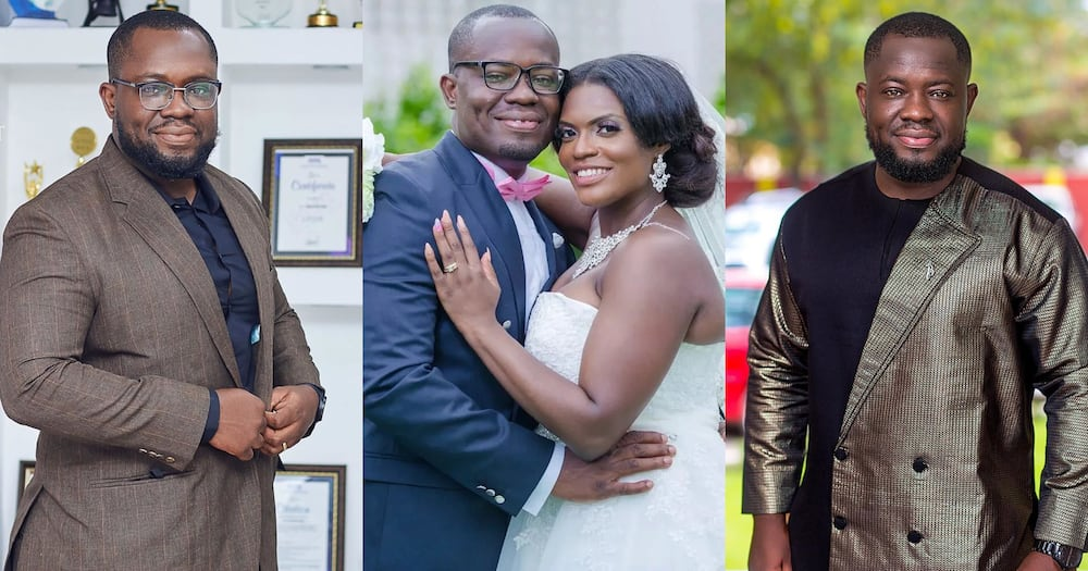 Giovani Caleb: 3FM and TV3 presenter flaunts wife and kids (photo)