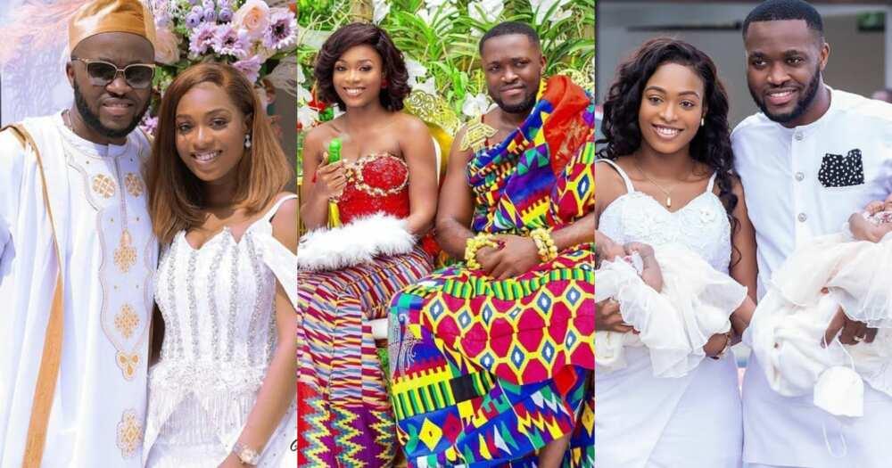 Despite's son Kennedy Osei wife Tracy