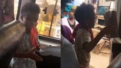 Video of little Ghanaian girl preaching to win souls for Christ in trotro goes viral