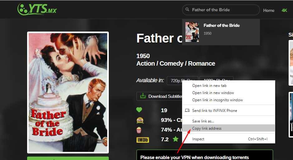 YTS movie downloader for PC