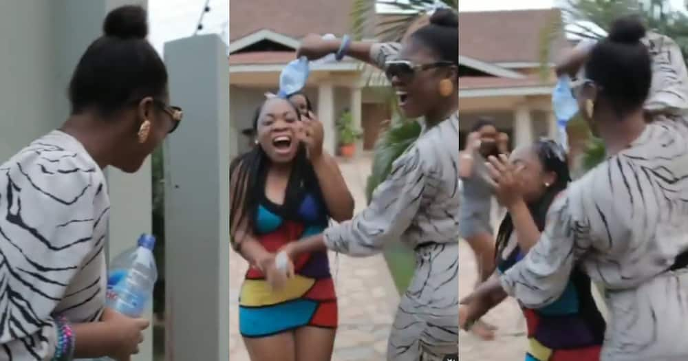 Throwback video of Salma Mumin surprising Moesha on b'day pops up after leaked audio