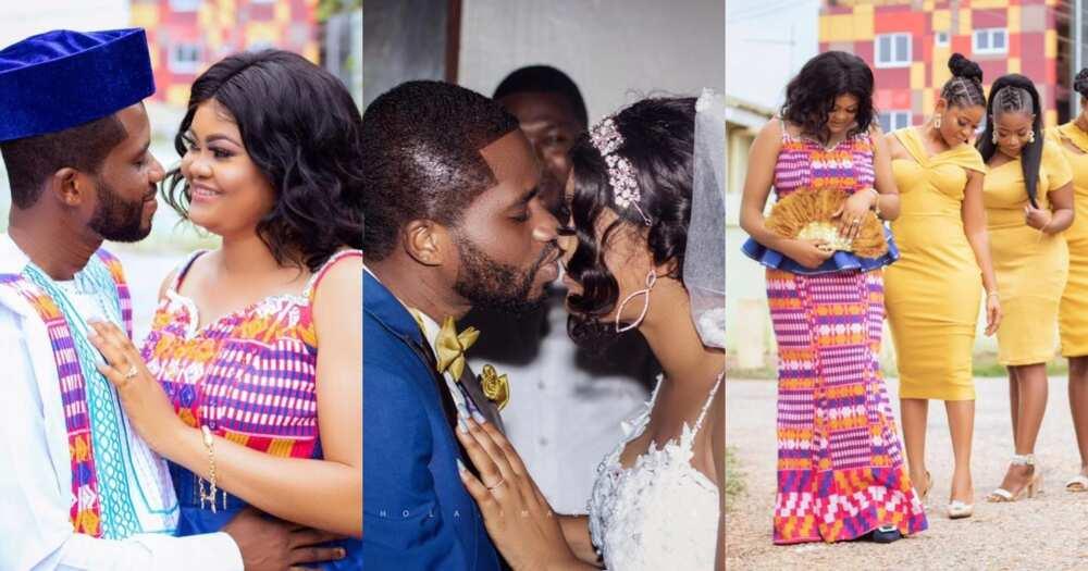 Linda Akua Obiribea: Ghanaian actress marries; beautiful photos drop