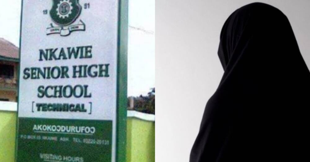 Nkawie SHS allegedly refuses to admit Muslim girl for wearing hijab