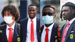 Drip lords: Kotoko players dazzle in suit and tie on pre-season tour of Dubai