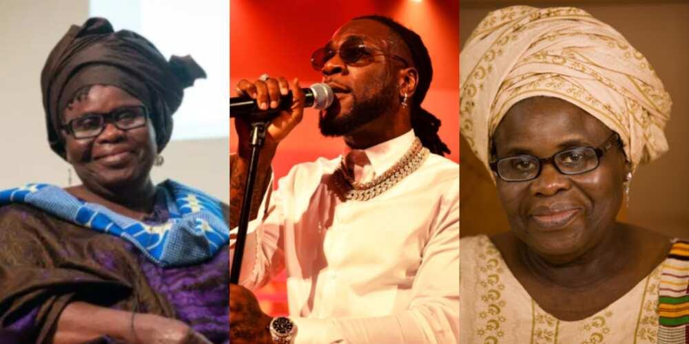 Burna Boy features Ghanaian playwright legend Ama Ata Aidoo on Twice As Tall album (Videos)