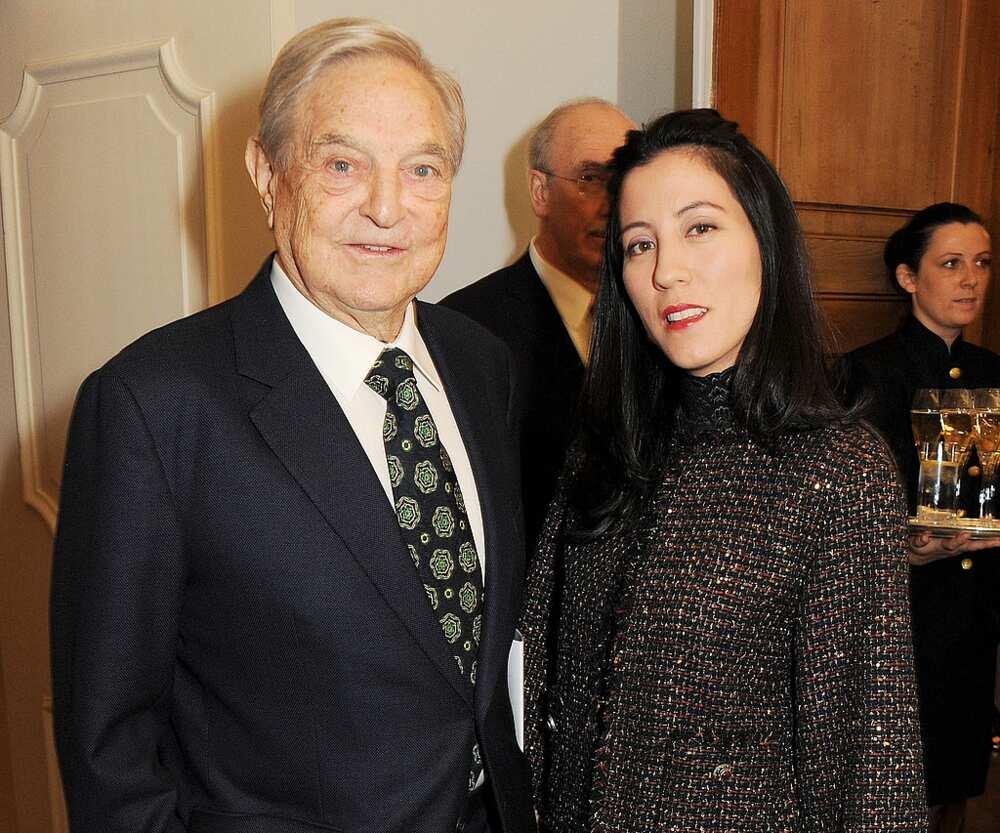 George Soros wife Tamiko Bolton