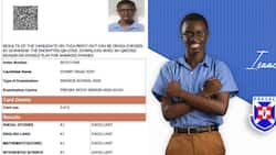 WASSCE result of PRESEC's NSMQ star Gakpetor's co-contenstant Gyamfi Isaac pops up online (photo)