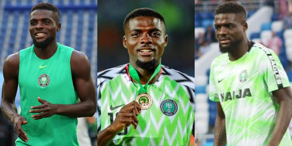 Let your children come and play our next match - Top Nigerian footballer tells politicians
