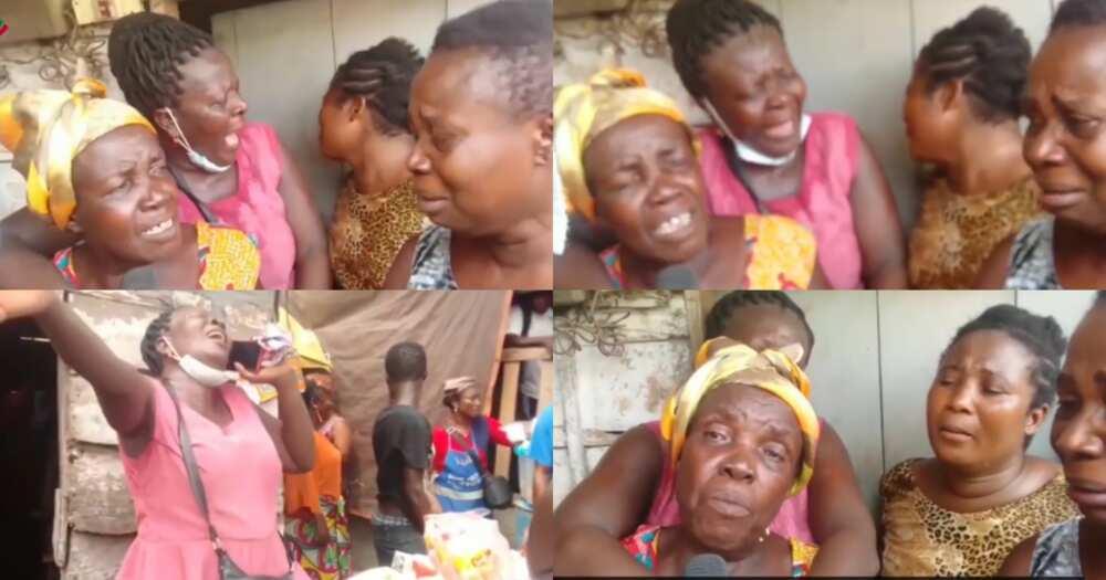 Korle-Bu bullion van robbery victim Afia Badu's mother and family
