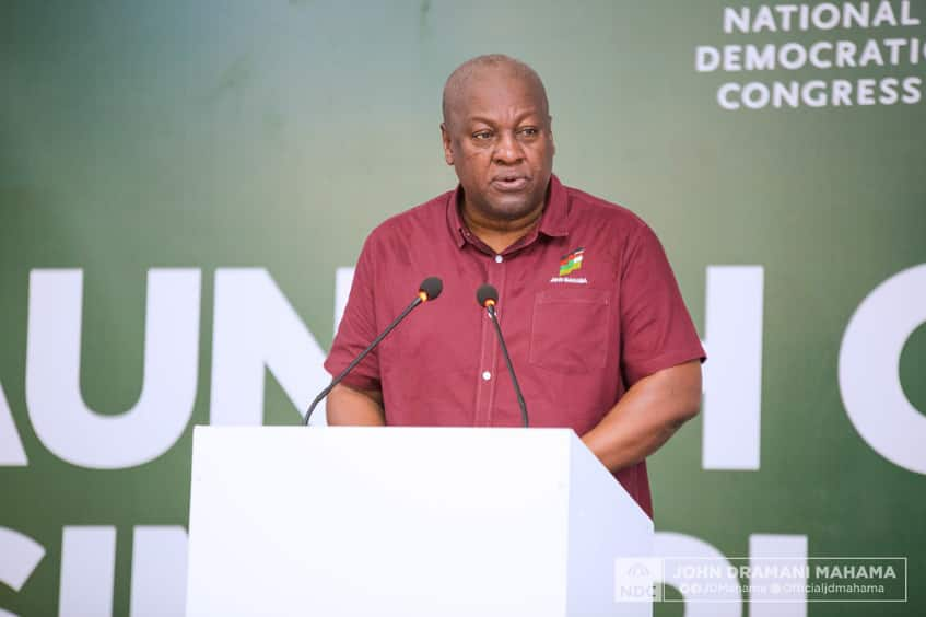 Deployment of soldiers into Volta, Oti regions creating panic and anxiety - Mahama