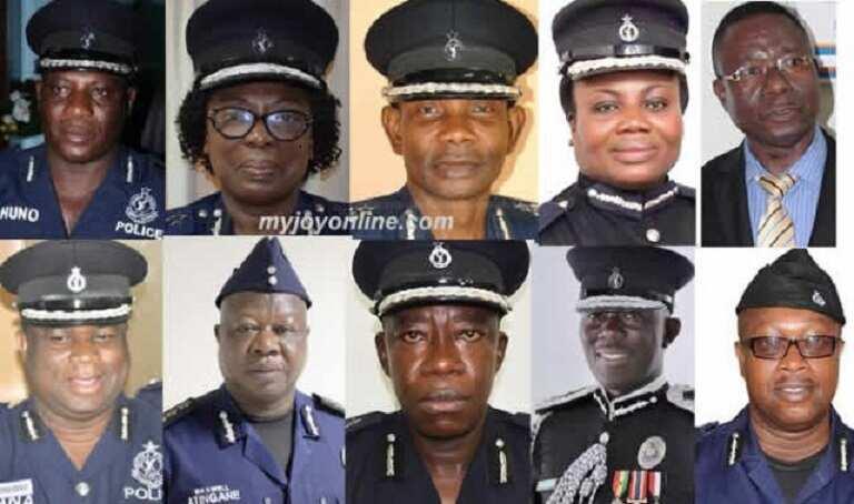 Yaa Tiwaa, Kofi Boakye and 8 others who could be the next IGP