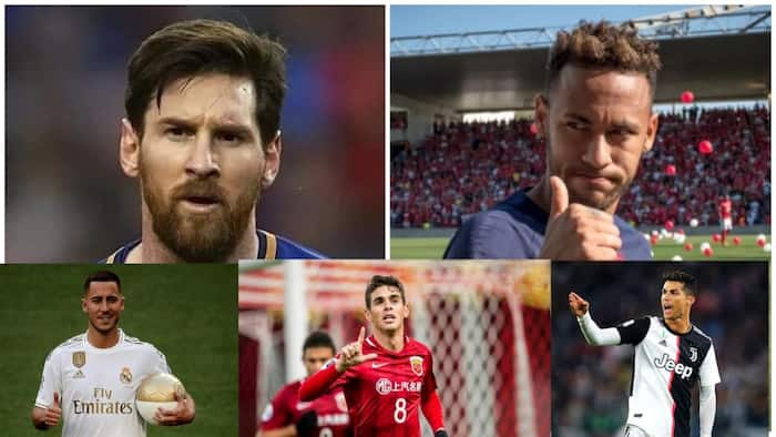 Here are the top 10 highest paid footballers in the world (see full list)