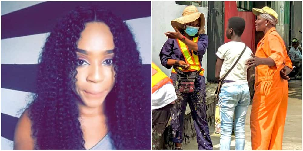 Nigerian artist gives young creative girl scholarship, vows to make her an expert