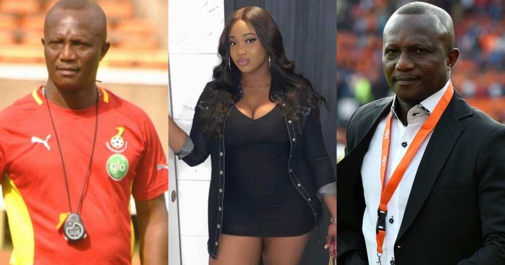Coach Kwasi Appiah's last daughter Marypearl turns 25; photos drop
