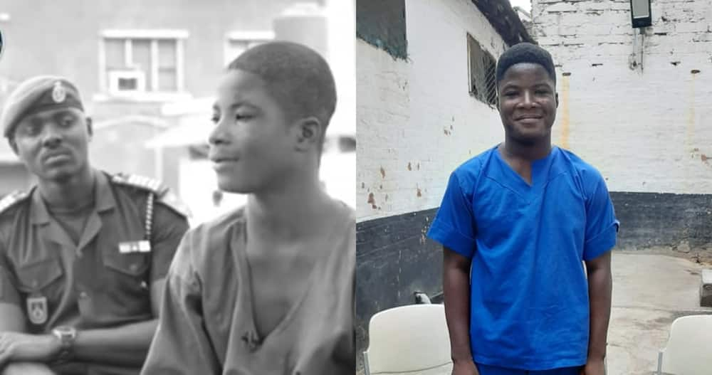 Maxwell: Ghanaian Boy who was Wrongfully Imprisoned Becomes Pastor in Cells
