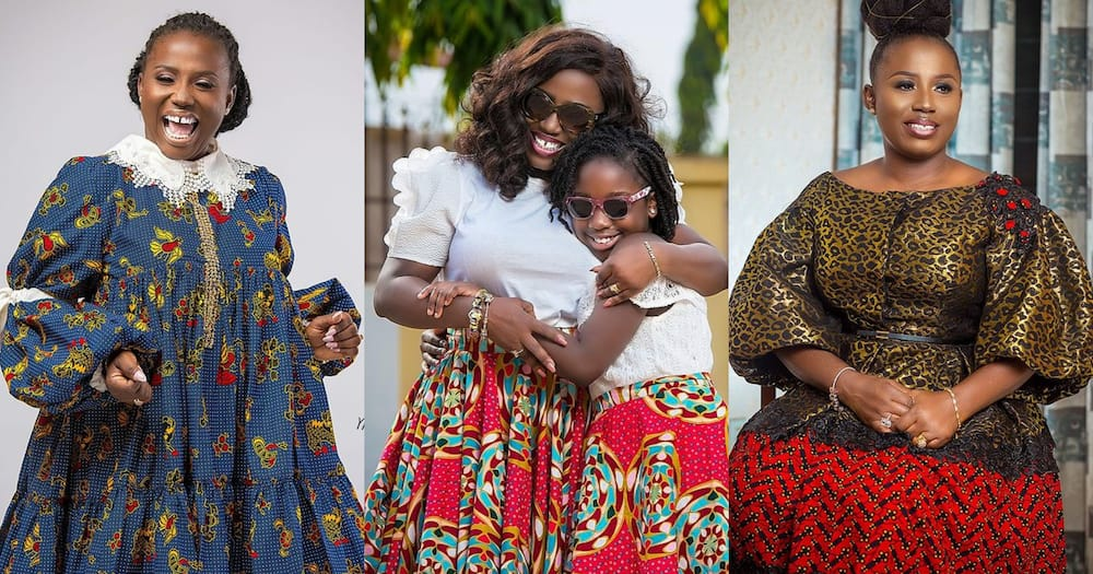 Diana Hamilton: Gospel singer twins with her daughter in African print (photos)