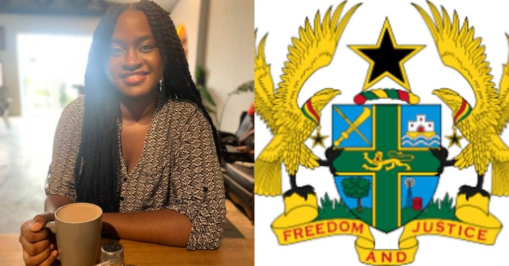 Naa Adzoa: Meet the beautiful granddaughter of the man who designed Ghana's Coat of Arms