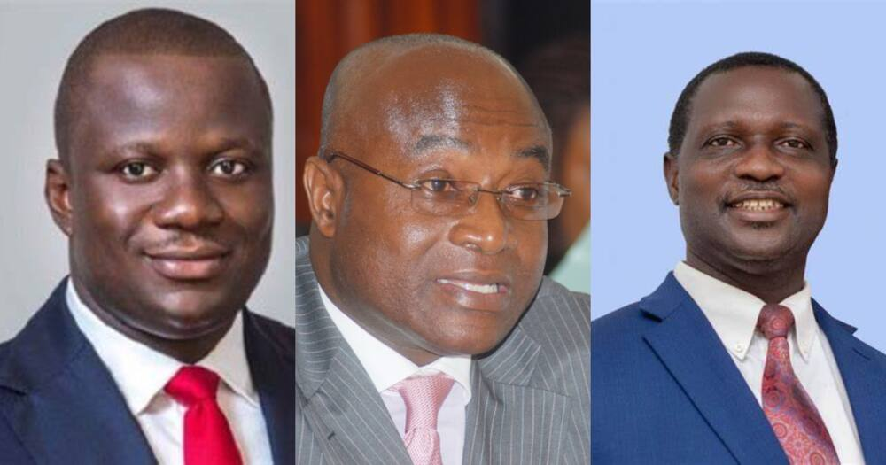 Kyei Mensah-Bonsu, Abu jinapor, 4 other new faces on Akufo-Addo's cabinet