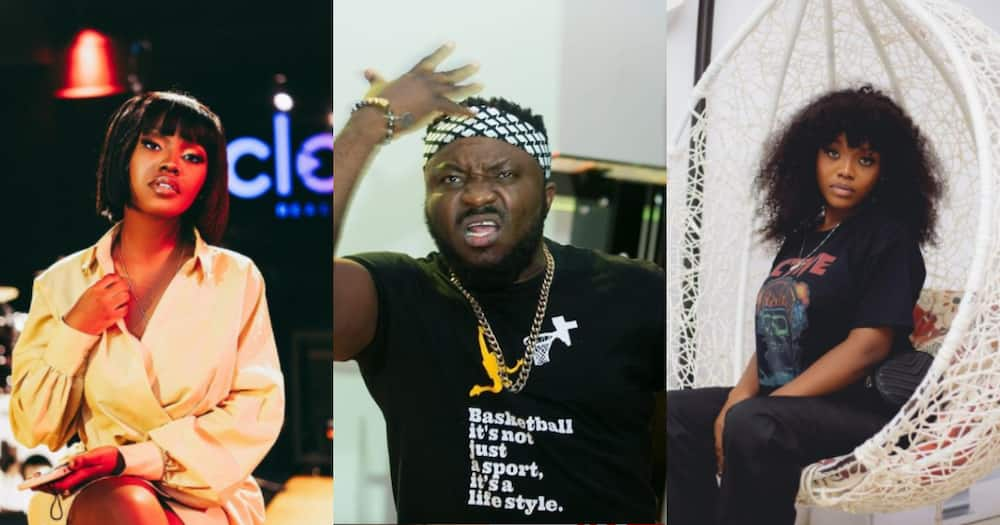 I have over 200k followers more than you; respond to my messages - DKB jabs Gyakie