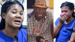 """""""He promised to marry me"""" - SHS girl Dr UN allegedly impregnated weeps as she narrates what happened in new video"""