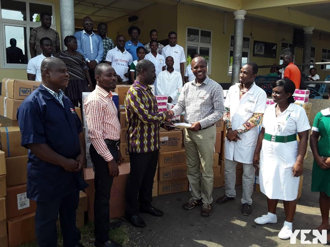 Ernest Chemist Limted supports Kwahu Government Hospital