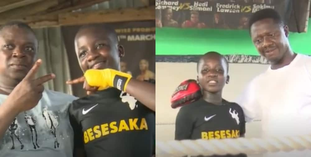 Women in Boxing: Meet 11-year-old Ghanaian Female Boxer from James Town