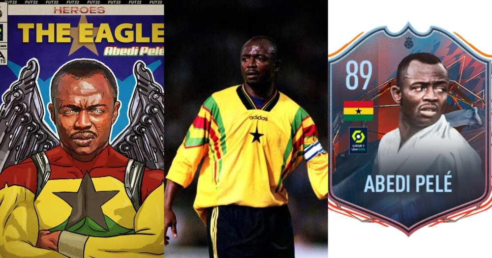 Ghana legend Abedi Pele finally confirmed EA Sports FIFA 22 hero