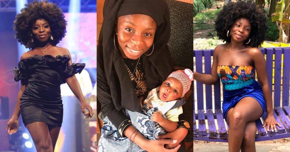 Date Rush: Photo Of American Girl Nabila And Cute Baby Pops Up