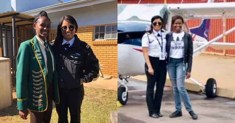 Underprivileged Local Girl Gets Help with Her Dream of Becoming Pilot