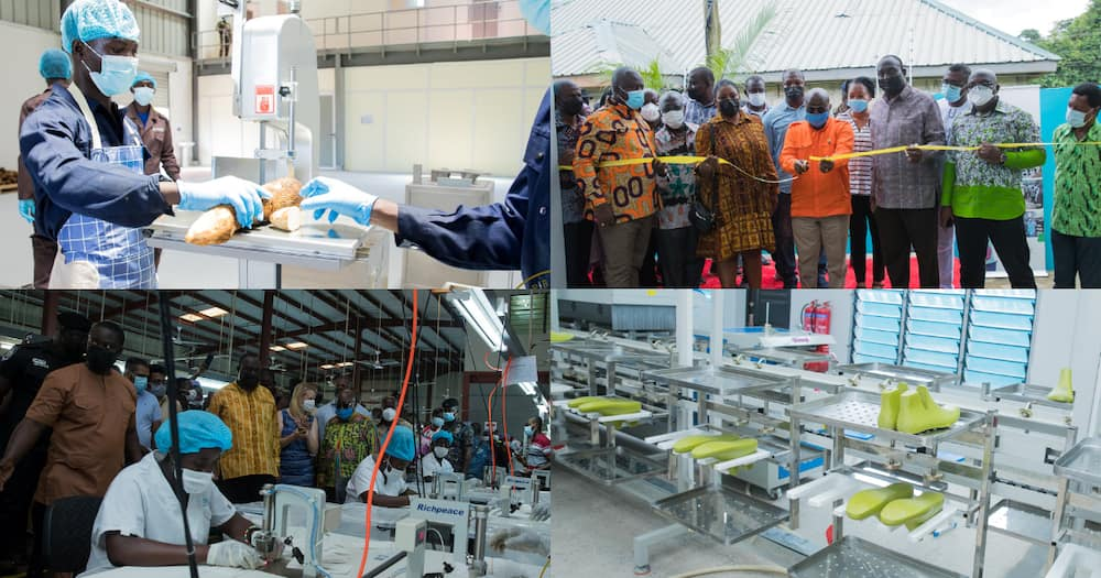 Seven factories newly commissioned under 1D1F