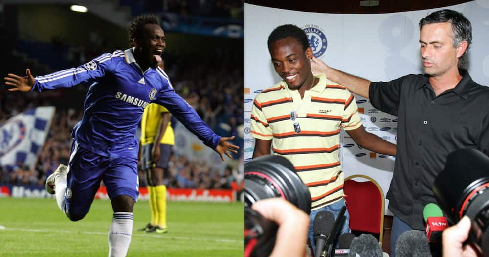 Chelsea celebrate anniversary of Michael Essien signing with a special tribute