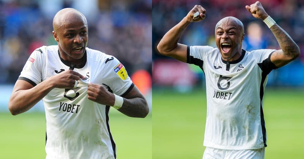 Dede Ayew to leave Swansea City as he is released after expiration of contract