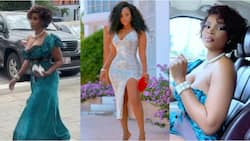 Benedicta Gafah drops jaws as she shows off her raw 'chest' and curves in spicy videos