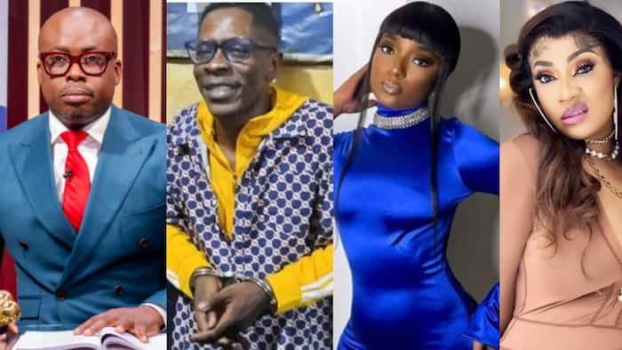 List of 8 Ghana and Nigeria celebs who have begged for Shatta Wale's release after shooting prank