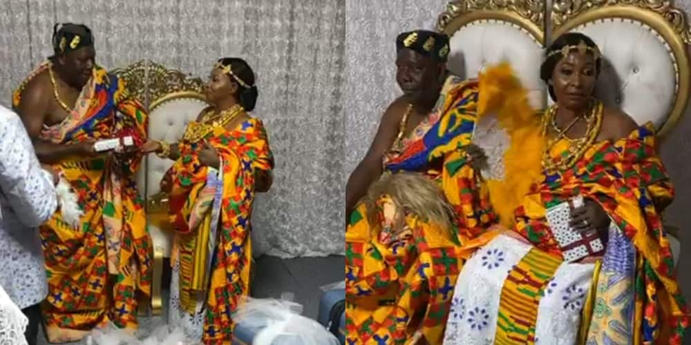 Video of Kyeiwaa's wedding in America surfaces on the internet