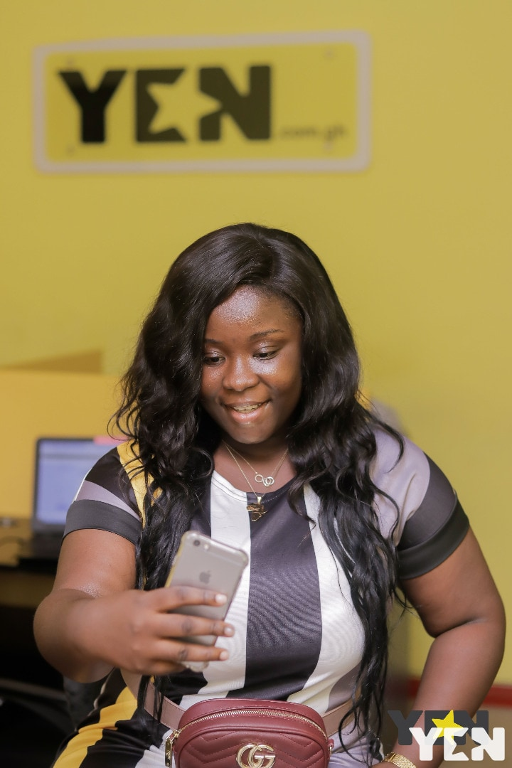 Maame Serwaa stuns in latest no make up photos