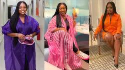 Jackie Appiah proves she's rich, drops photo chilling at a lavish location, Nana Ama McBrown reacts