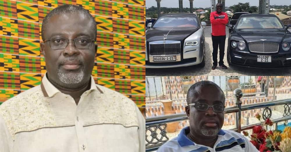 Dr Asiedu: Ghanaian millionaire flaunts his newly acquired customised 2021 Rolls Royce and Bentley