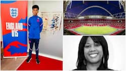Black boy makes England under 15 football team, his family member, many people congratulate him online
