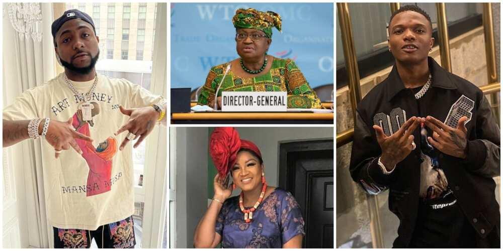 Forbes Africa Icons' List: Davido, Wizkid, Omotola, Burna Boy, other Nigerians Recognized