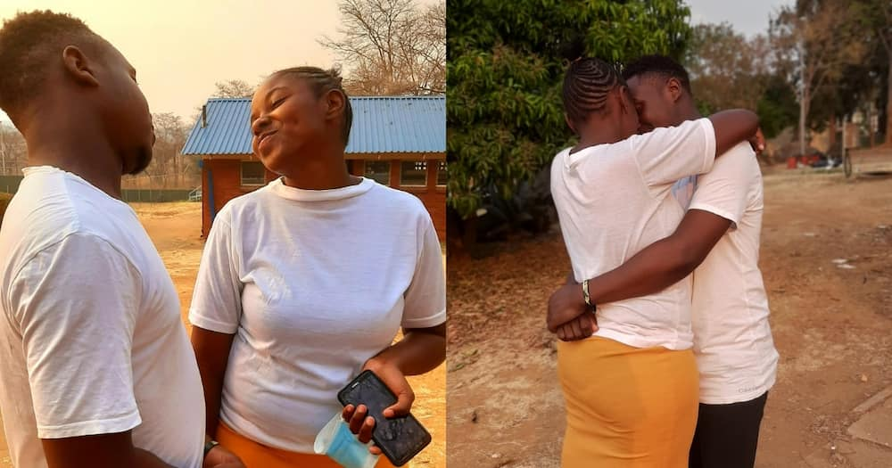 From the DM's to the timeline: Guy gushes over internet love